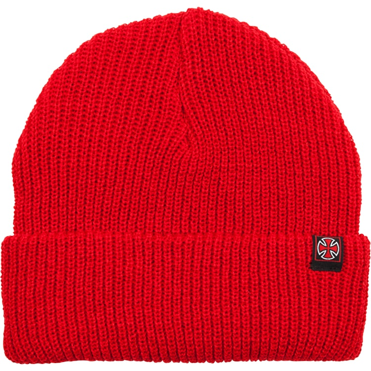 Independent Edge Beanie - Cardinal