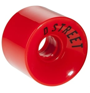 D-Street 59 Cent 78A 59mm Wheels - Red (4 Pack)