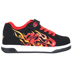Heelys X2 Dual Up - Print Black/Flames