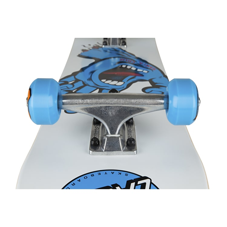 Santa Cruz Screaming Hand Complete Skateboard - White 7.75""