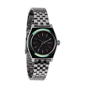 Nixon Small Time Teller Watch - Gunmetal/Multi