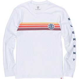 Element Dawn Long Sleeve T Shirt - Optic White