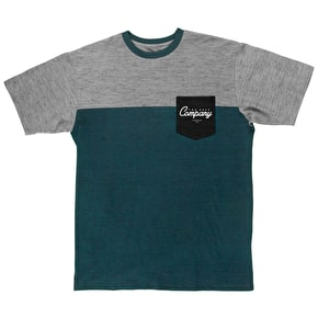 Neff Daily Pocket T-Shirt - Teal