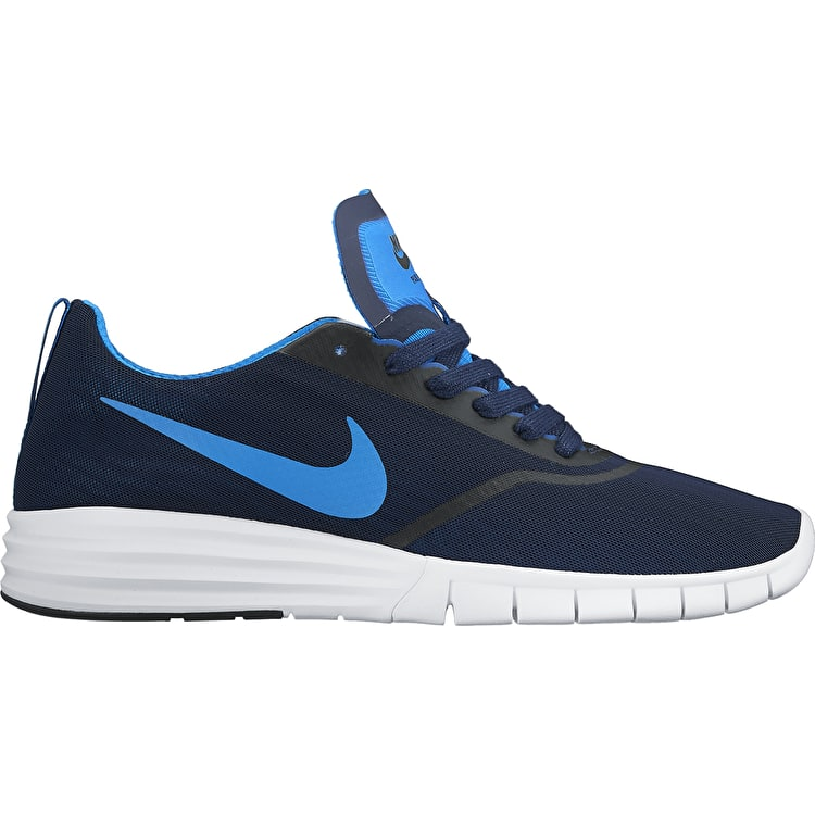 Nike SB Lunar Paul Rodriguez 9 R/R Shoes - Obsidian/Photo Blue