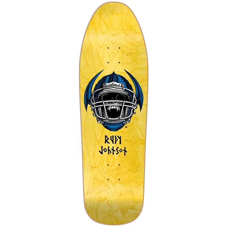 Blind Jock Skull R7 SP Skateboard Deck - Johnson 9.875""