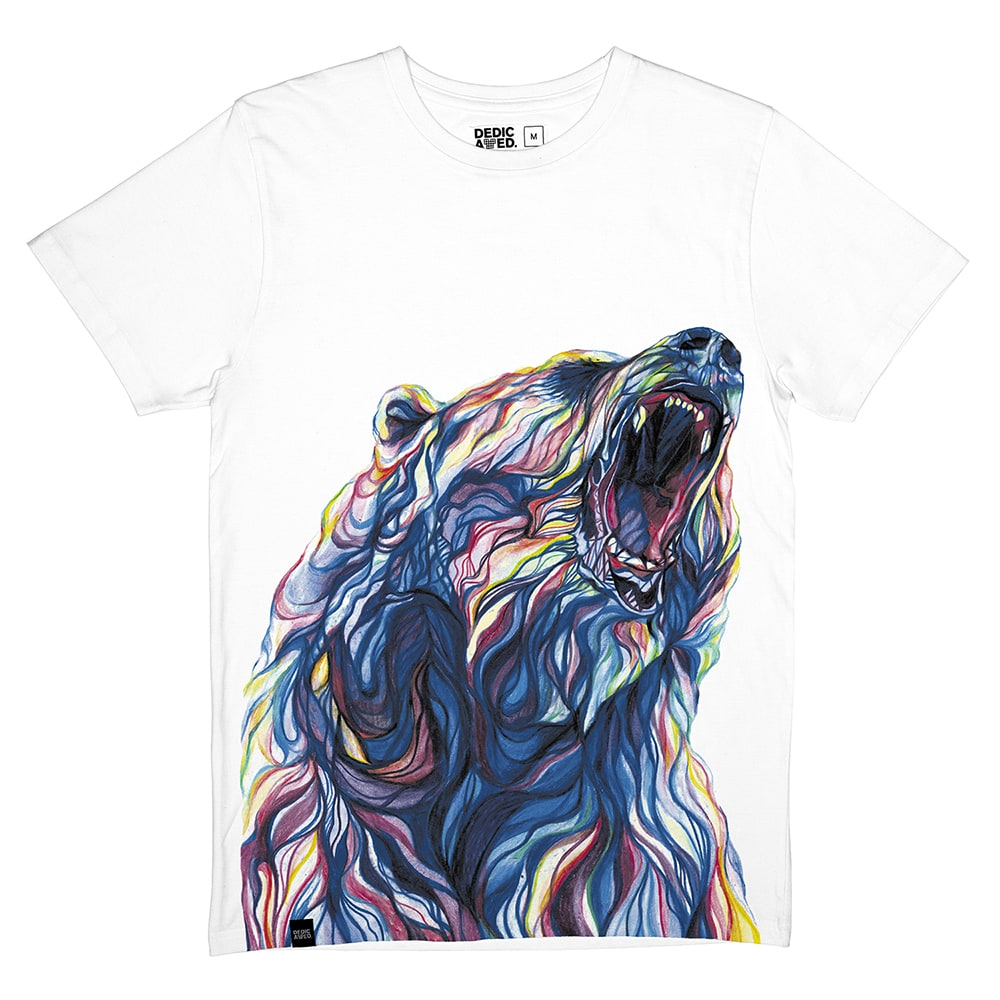 Image of Dedicated Color Bear T-Shirt