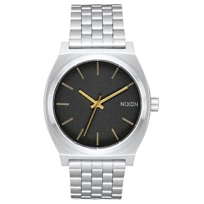 Nixon Time Teller Watch - Black Stamped/Gold