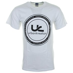 Urban Kreation Badge T-Shirt - White