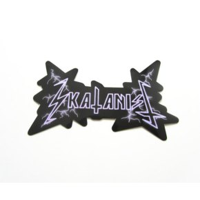 Skatanist- Metal Logo Sticker