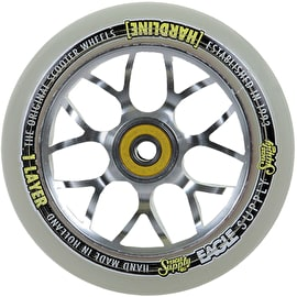 Eagle Sport 110mm 2-Layer X6 Scooter Wheel - Snowball