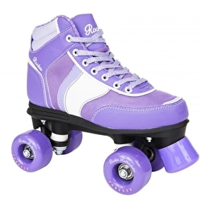 Rookie Forever Quad Roller Skates- Purple