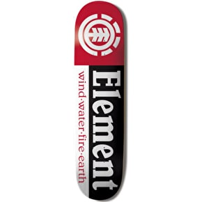 Element Thriftwood Section Skateboard Deck 7.75