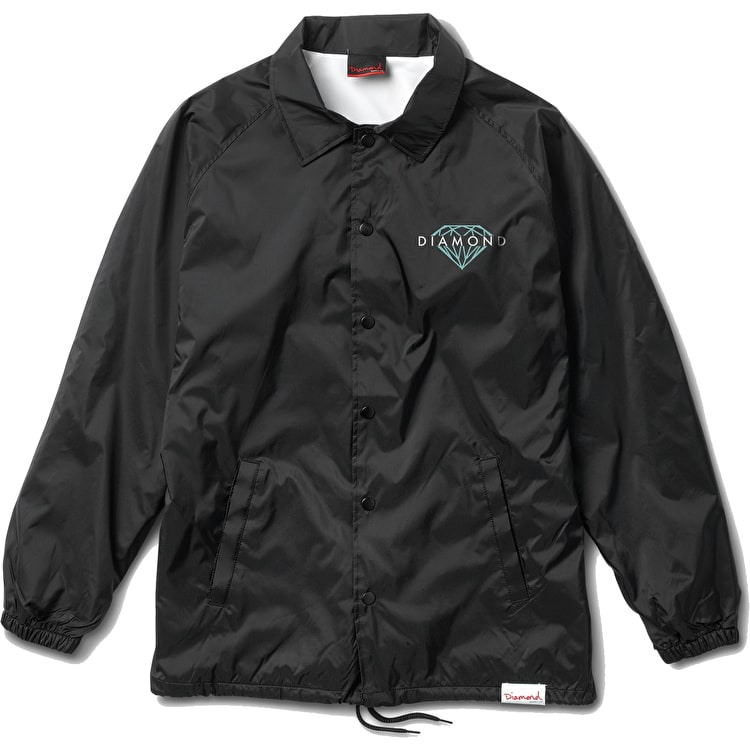 Diamond Brilliant Coach Jacket - Black