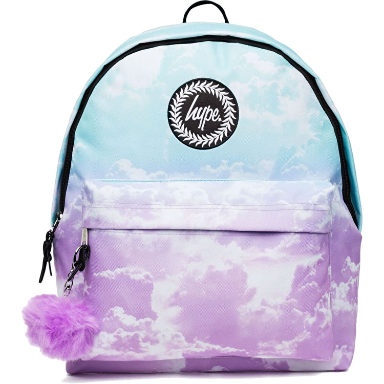 Hype Fade Clouds Pom Pom Backpack - Multi