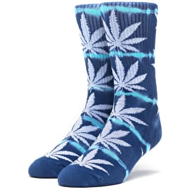 Huf Plantlife Lightning Wash Socks - Moon Indigo