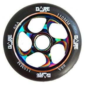 Dare Swift 2 Scooter Wheel - Black/Neochrome 110mm