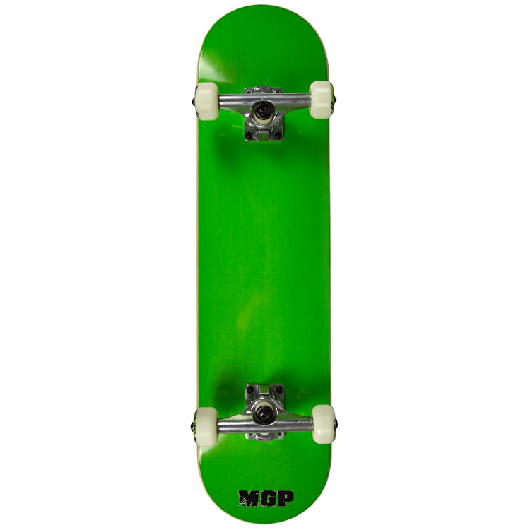 MGP Jive Series Complete Skateboard - Tailed Logo Green 7.5""