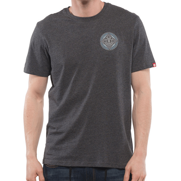 Element Wrapped T-Shirt - Charcoal Heather