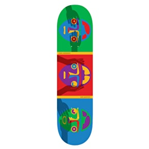 Alien Workshop Guevara No Evil Pro Skateboard Deck - 8