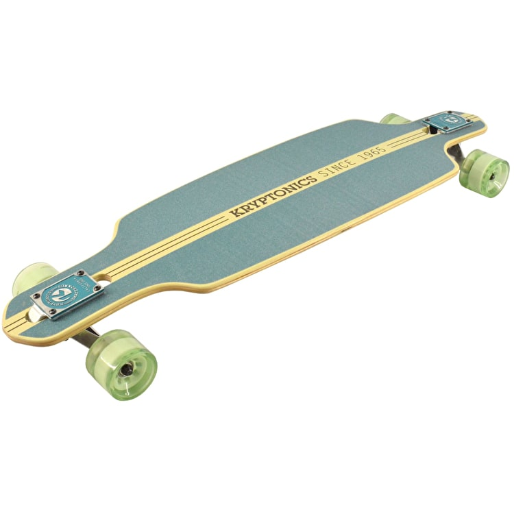 Kryptonic Drop Through Complete Longboard - Birds Of Paradise 36""