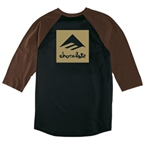 Emerica x Chocolate Raglan - Brown/Black