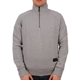 Levi's Skate Quarter Zip Sweater - Rollerskate Grey Heather