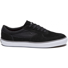 Lakai Parker Skate Shoes - Black Suede