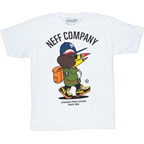 Neff Fresh Walkin' T-Shirt - White