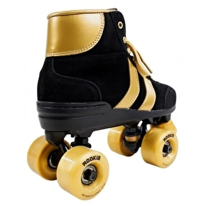 Rookie Authentic Quad Roller Skates - Black/Gold
