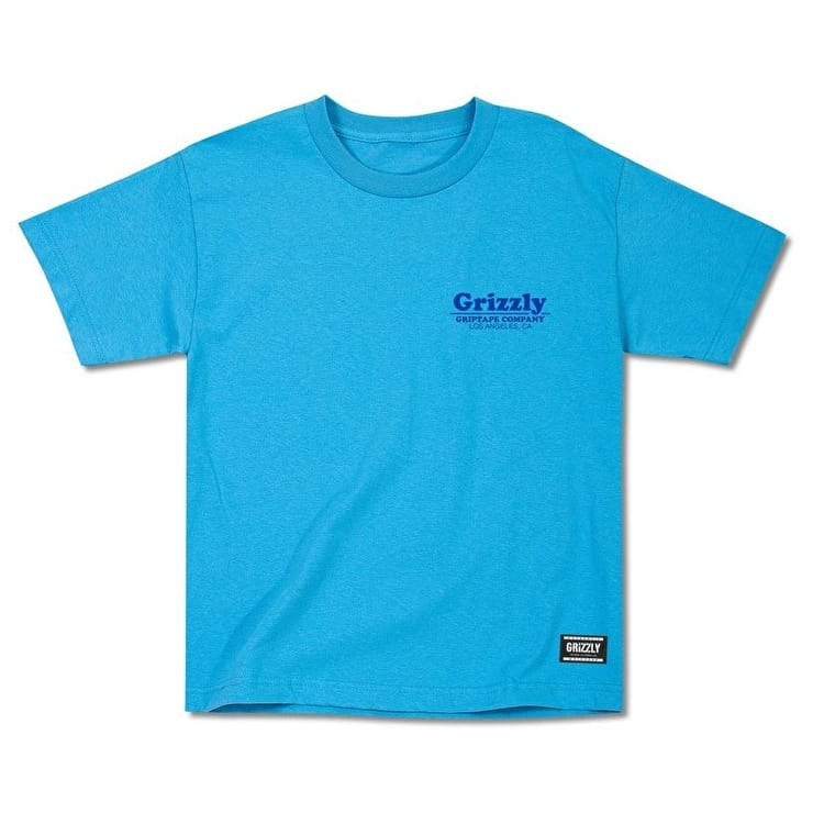 Grizzly Pool Service Kids T-Shirt - Turquoise