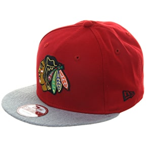 New Era 9Fifty Snapback Cap - Chicago Blackhawks Official