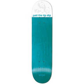 Enjoi Just The Tip R7 Skateboard Deck - Blue 8.125