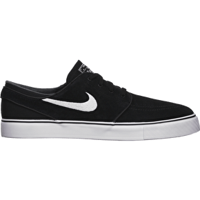 Nike SB Zoom Stefan Janoski Suede Shoes - Black/White