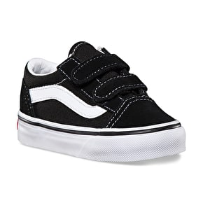 Vans Old Skool V Toddler Shoes - Black