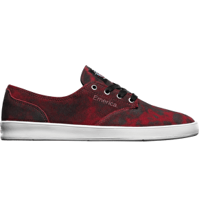 Emerica x Toy Machine Romero Laced Shoes - Black/Red