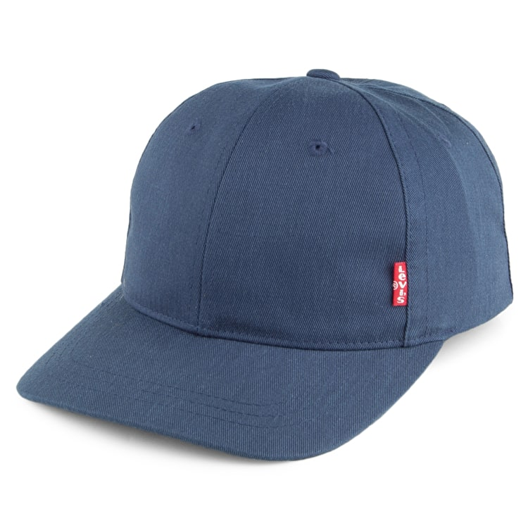 Levi's Classic Twill Red Tab Baseball Cap - Navy Blue