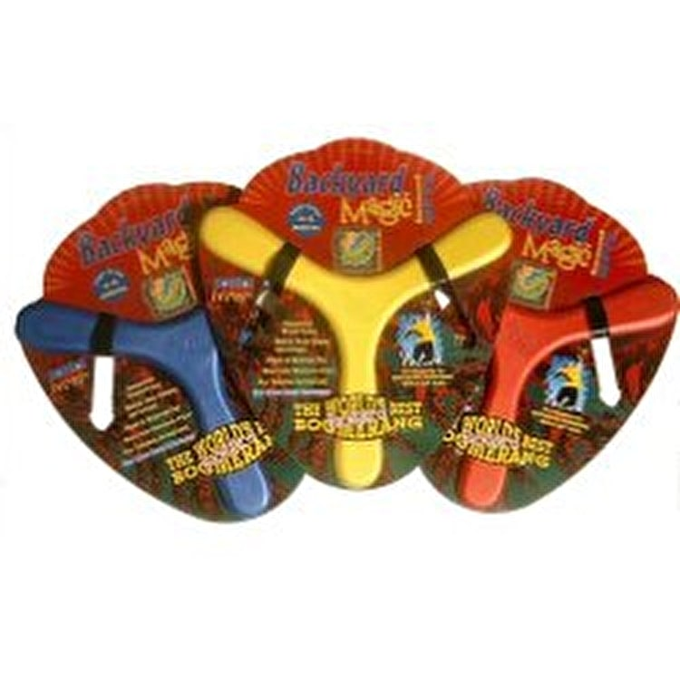 Rangs Backyard Magic Foam Boomerang - Various Colour