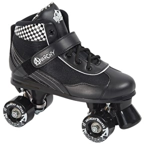 B-Stock Anarchy Mayhem Derby Roller Skates - Black / White (Old Stock)