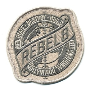 Rebel8 Sights Set Patch - Grey