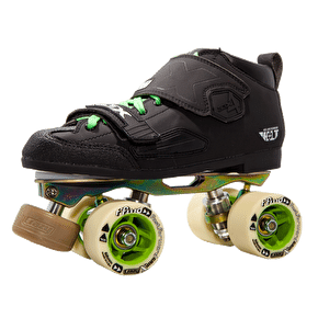 Crazy Skates DBX4 Venus Derby Skate Package