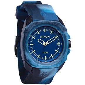 Nixon Ruckus Watch - Marbled Blue
