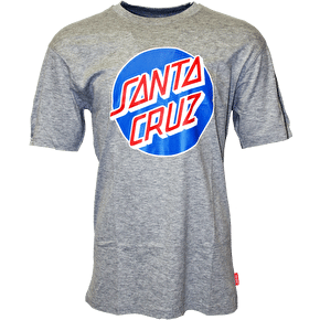 Santa Cruz Classic Dot T-Shirt - Dark Heather