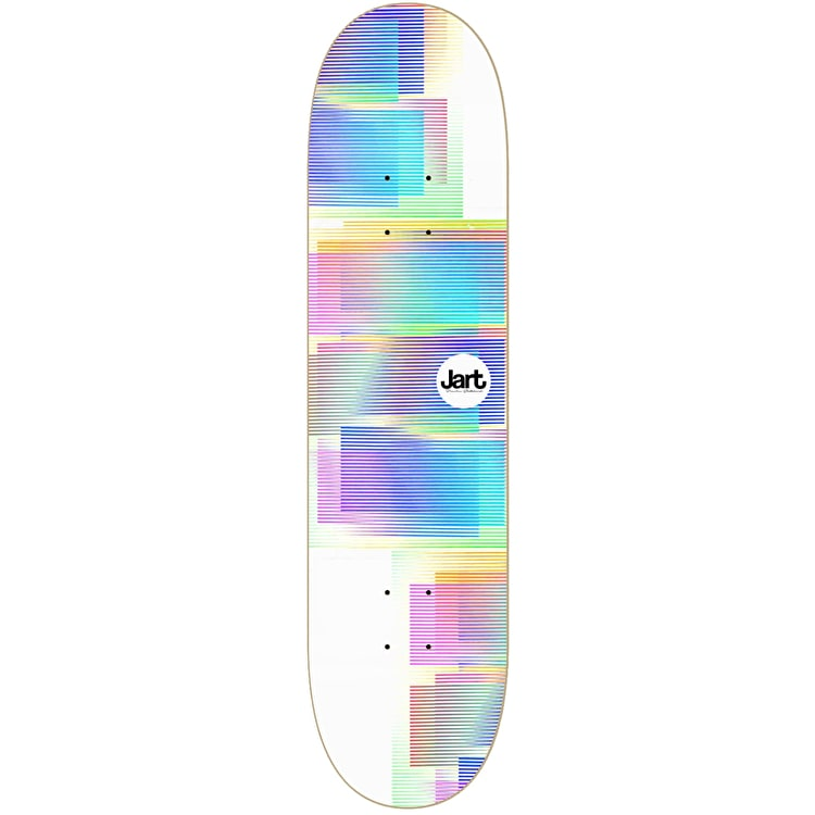 Jart VHS Skateboard Deck - White 8.125""