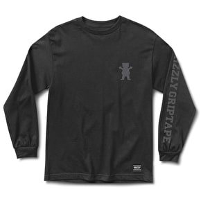 Grizzly Academy Long Sleeve T-Shirt - Black