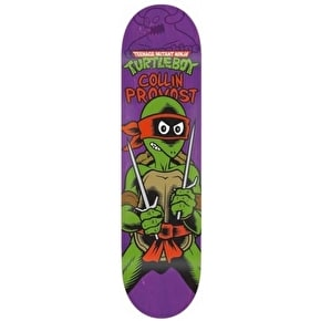 Toy Machine Ninja Turtle Boy Skateboard Deck - Provost 8.25