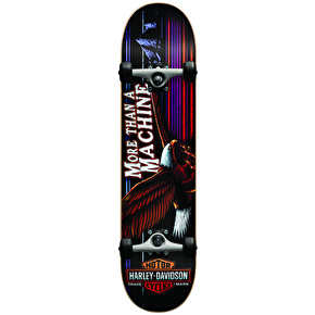 Darkstar x Harley Davidson Highway Complete Skateboard - Red 7.75