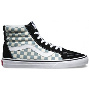 Vans Sk8-Hi Reissue - (Checkerboard) Black/Citadel