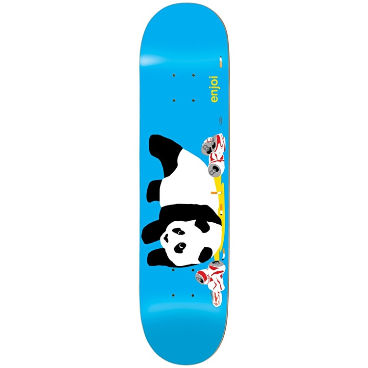 Enjoi Party Panda Skateboard Deck - Blue 8.25""