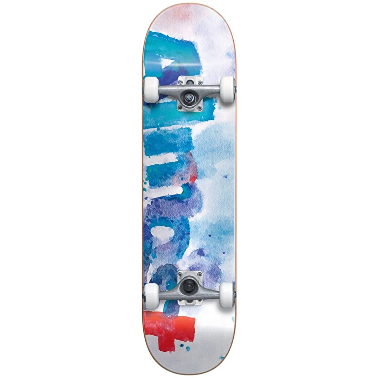 Almost Blotchy Complete Skateboard - White 8""