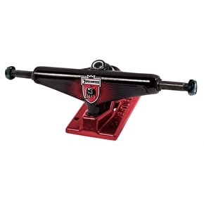 Venture Youness League High Skateboard Trucks - Black/Oxblood 5.25